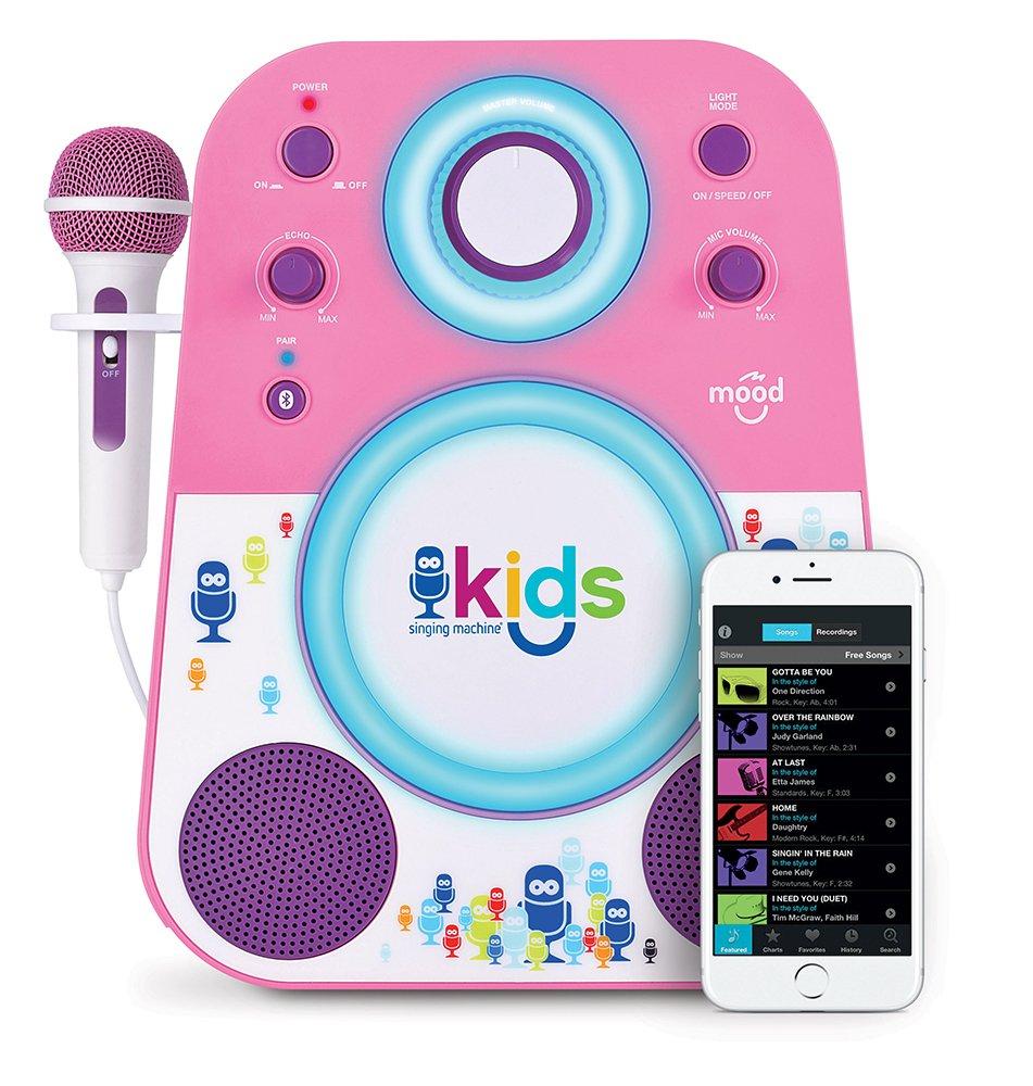 Singing Machine SMK250PP Karaoke Machines lila und rosa