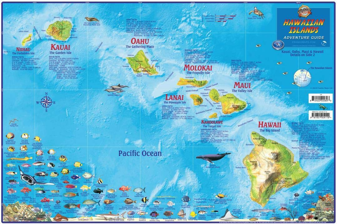 Hawaii Map Poster Hawaiian Islands Adventure Map Laminated ... on map of the grand canyon, map of arizona, map of michigan, map of philippines, map of hawaiian islands, map of americas, map of cleveland, map of north carolina, map of usa, map of illinois, map of waikiki, map of mexico, map of pearl harbor, map of italy, map of oahu, map of guam, map of florida, map of massachusetts, map of the panama canal, map of maine, map of texas, map of molokai, map of new jersey, map of maui, map of virginia, map of alaska, map of china, map of bahamas, map of kauai, map of canada, google maps hawaii, map of mauna loa, map of ohio, map of united states, map of georgia, map of delaware, map of new york, map of big island, map of california,