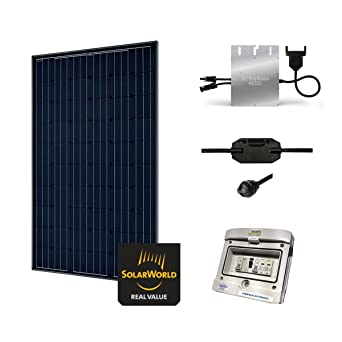 Kit Solar 285 W autoconsommation - Plug & Play: Amazon.es: Iluminación