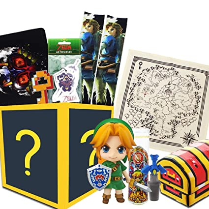 Amazon.com: Toynk Nintendo Collectibles Legend of Zelda caja ...