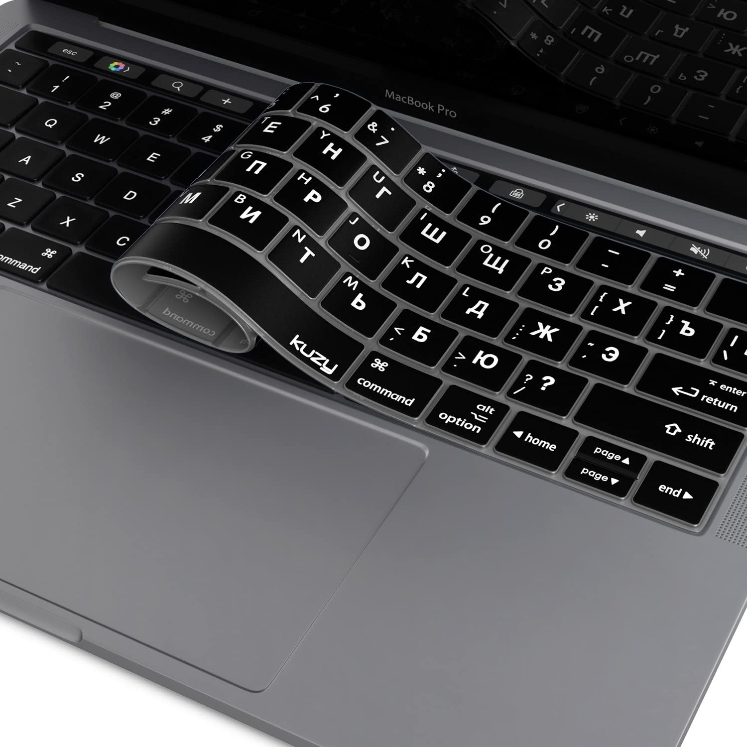 15 Inch A1932 A1989 Keyboard Cover Silicone Skin Compatible MacBook Pro 13 Inch