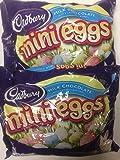 Cadbury Easter Candy Coated Mini Eggs, 36 Ounce ((2) 18oz Bags)