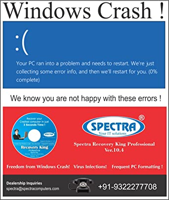 Spectra Recovery King Professional Software (Recover your Crashed
