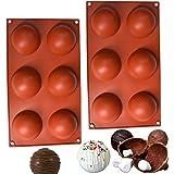 SAMU | 2 Moldes de silicona | Moldes para hornear | Moldes de Silicon | Moldes de silicona para hornear | Moldes para chocola