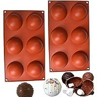 SAMU   2 Moldes de silicona   Moldes para hornear   Moldes de Silicon   Moldes de silicona para hornear   Moldes para…