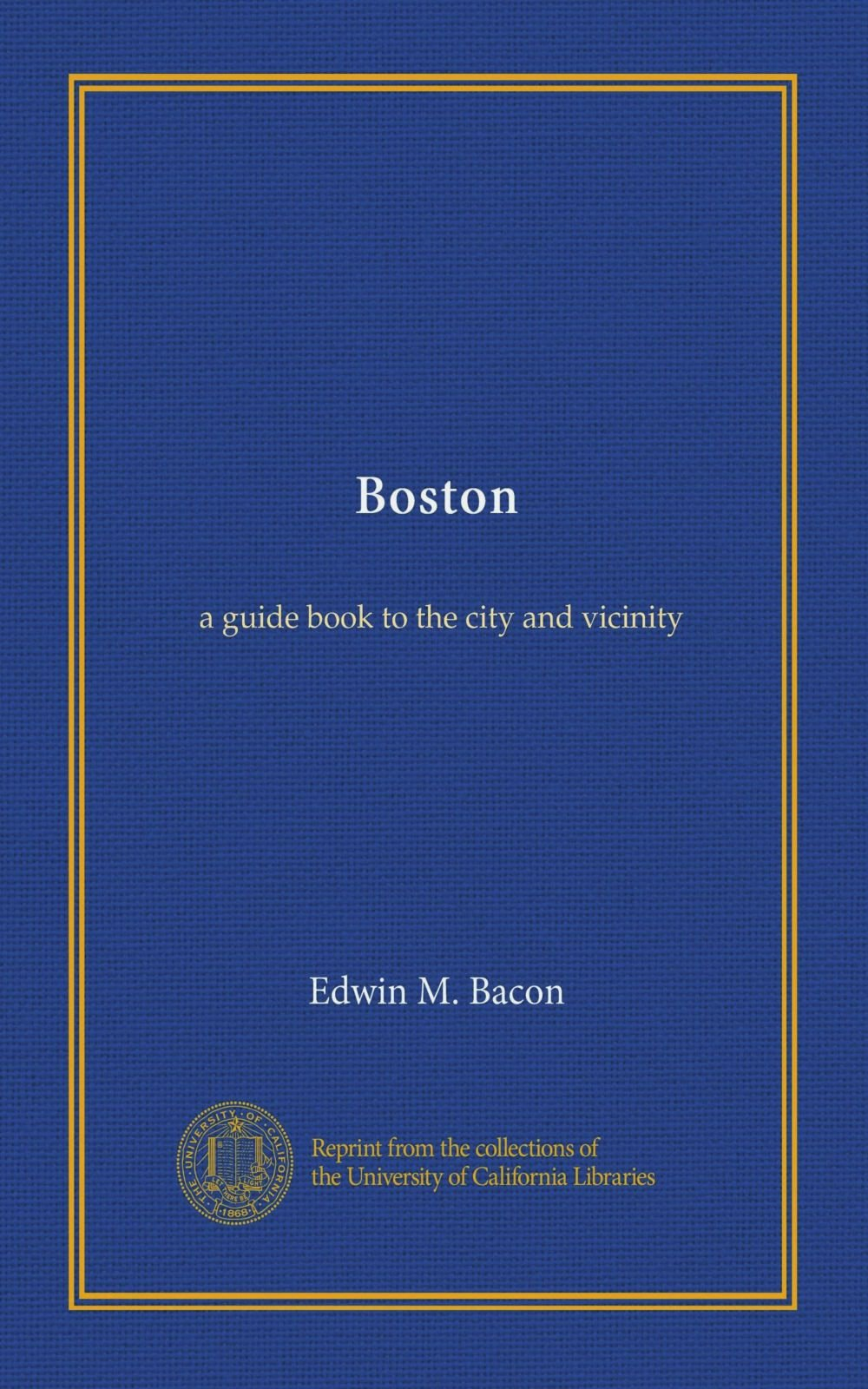 Boston: a guide book to the city and vicinity ebook