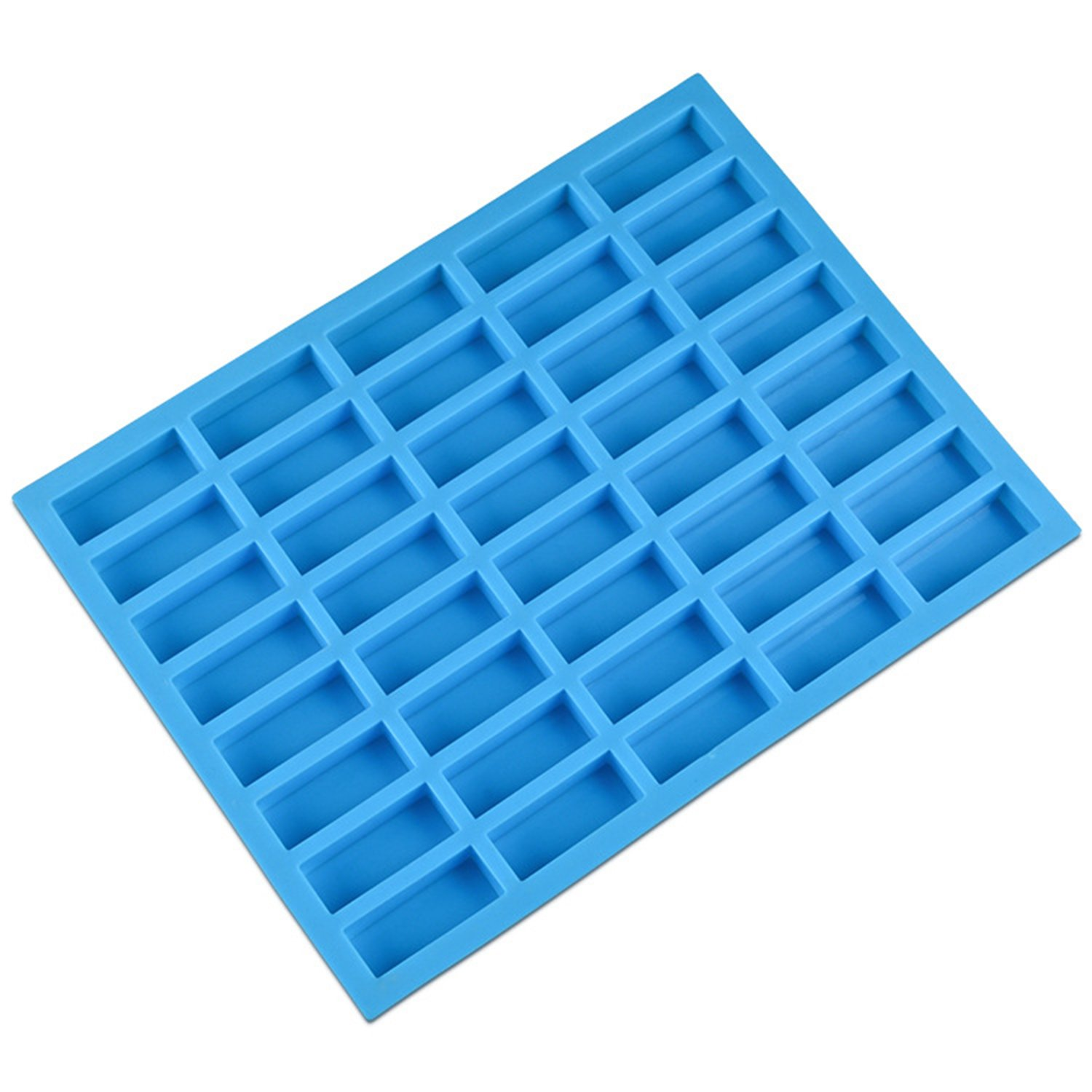 V-fox 80 Cavities Square and Heart Shaped Hard Candy Silicone Molds for Chocolate, Jelly, Candy and Ice Cube Tray, Purple 4336902770