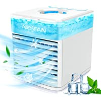 graffitimaster Personal Cooler Portable With 8 Light Mode 3 in 1 Air Cooler Fan