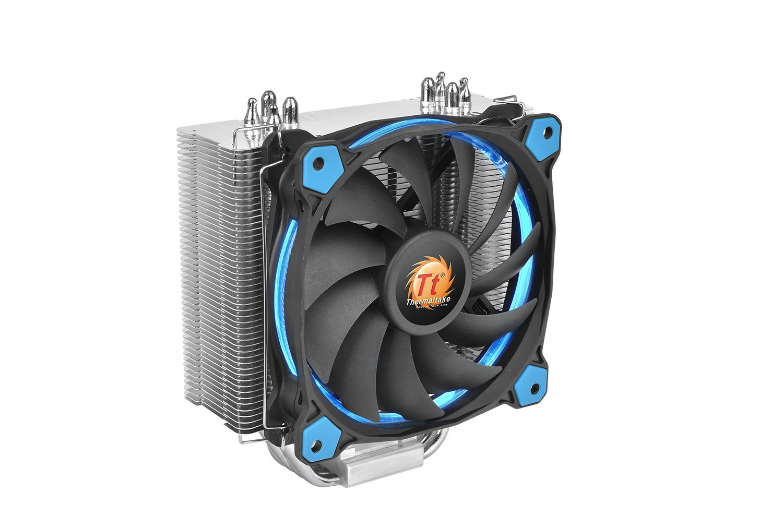 Thermaltake RIING Silent 150W Intel/AMD 120mm High Airflow LED Fan CPU Cooler, Blue