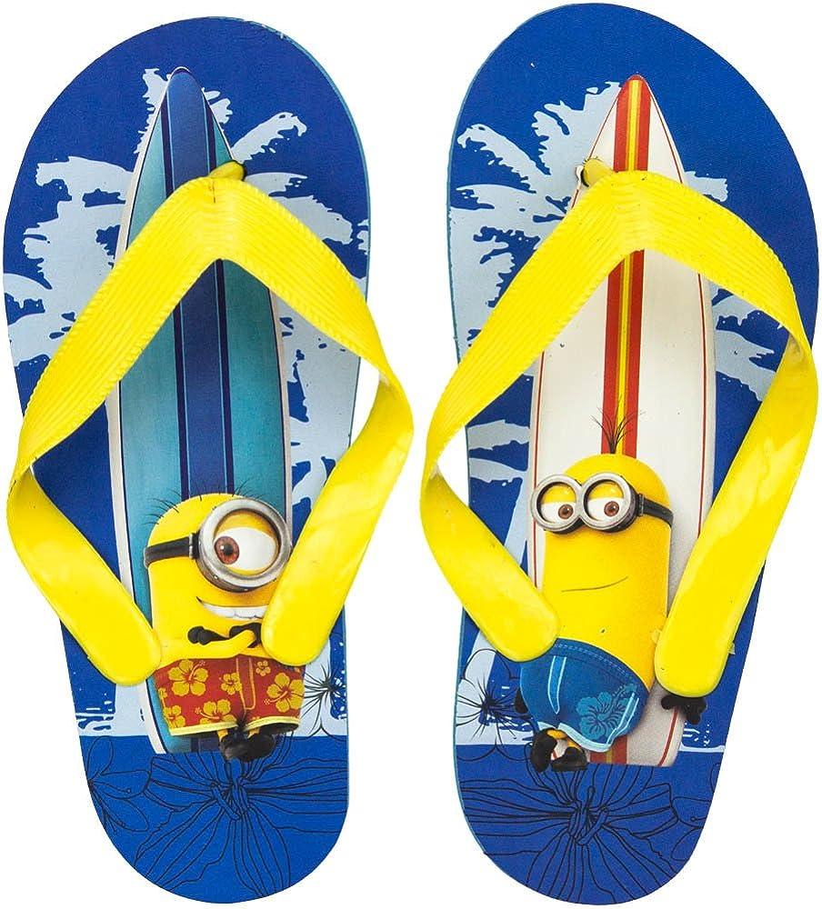 Minions Badelatschen Zehentreter Sandalen Minion Strandschuhe