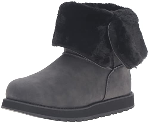 Skechers Keepsakes Leatherette Mid Button Women's Winter Boot