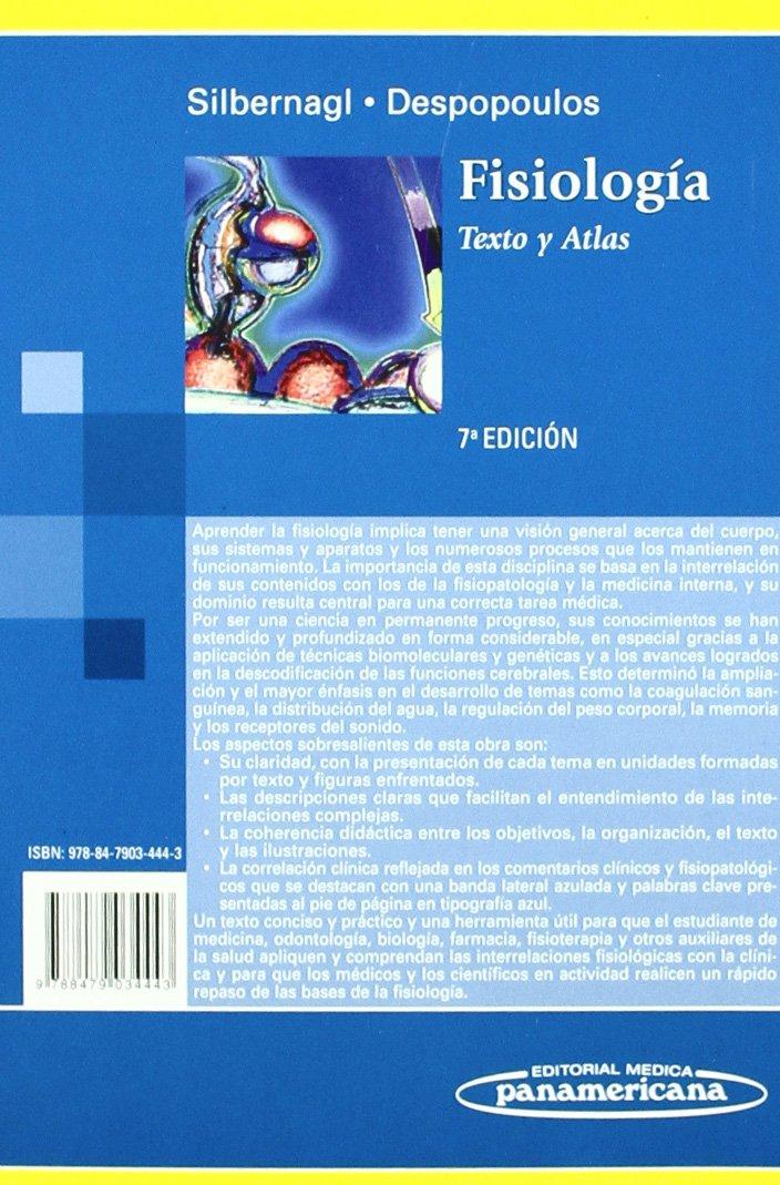Fisiología: Texto y Atlas: Amazon.es: Stefan Silbernagl, Agamemnon ...