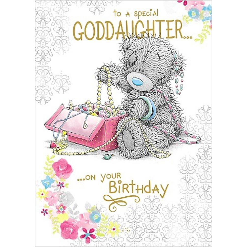 Special Goddaughter Birthday Forever Friends Birthday Greetings