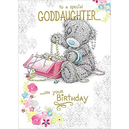 Amazon Me To You Goddaughter Birthday Card Office Products