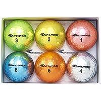 Chromax Metallic M5 Colored Golf Balls (Pack of 6)