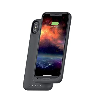mophie Juice Pack Air - Mfi Certified - Wireless Charging - Protective Battery Pack Case for Apple iPhone Xs Max - Graphite