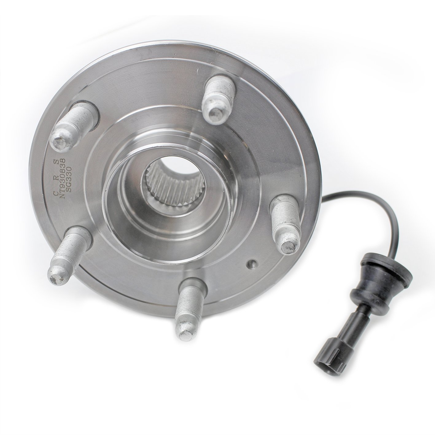 CRS NT930838 New Wheel Bearing Hub Assembly, Rear Left (Driver)/ Right (Passenger), for 2010-2016 Chevy Equinox, 2010-2016 GMC Terrain, FWD/AWD by CRS (Image #6)
