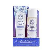 The Honest Company 2-Piece Dreamy Lavender Shampoo + Body Wash (10 Fl. Oz) & Face + Body Lotion (8.5 Fl. Oz.) Bundle Tear Free Naturally Derived Ingredients Sulfate & Paraben Free Baby Bath