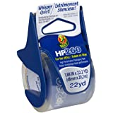 Duck HP260 Packing Tape With Dispenser, 1.88 Inch x 22.2 Yard, Clear, 1 Roll (920352)