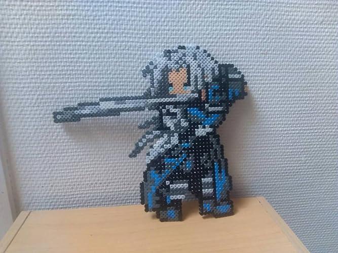 Sprite Sephiroth - Final fantasy - Hama Beads - Pixel art ...