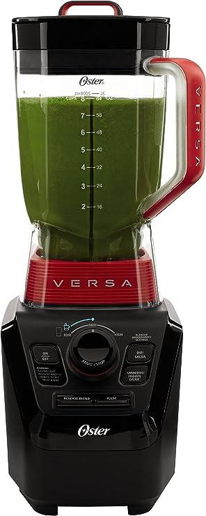 Oster BLSTVB-103-000 Versa Batidora de rendimiento profesional de 1100 vatios con dos vasos de 20 onzas: Amazon.es: Hogar