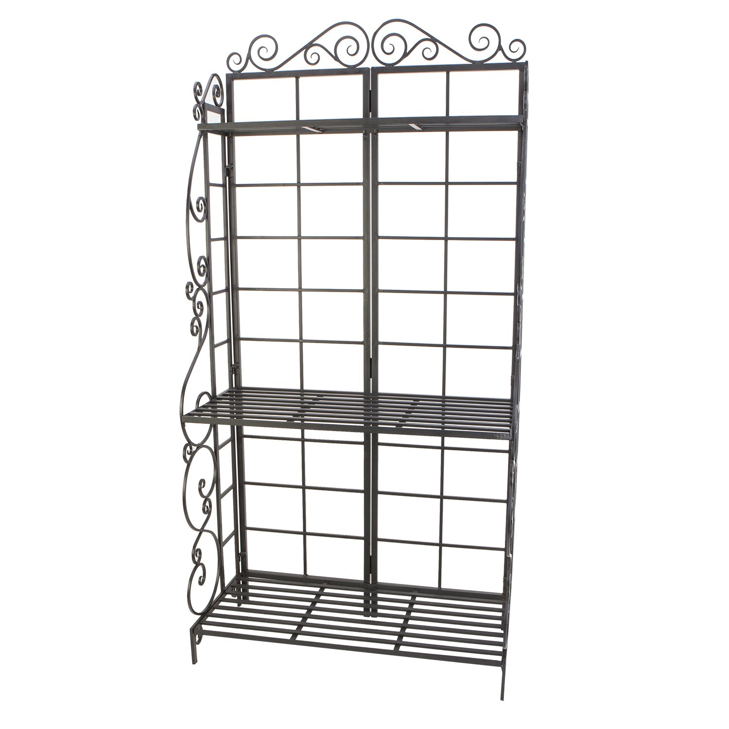 Panacea Products Baker's Rack Plant Stand, Brushed Bronze by Panacea Products