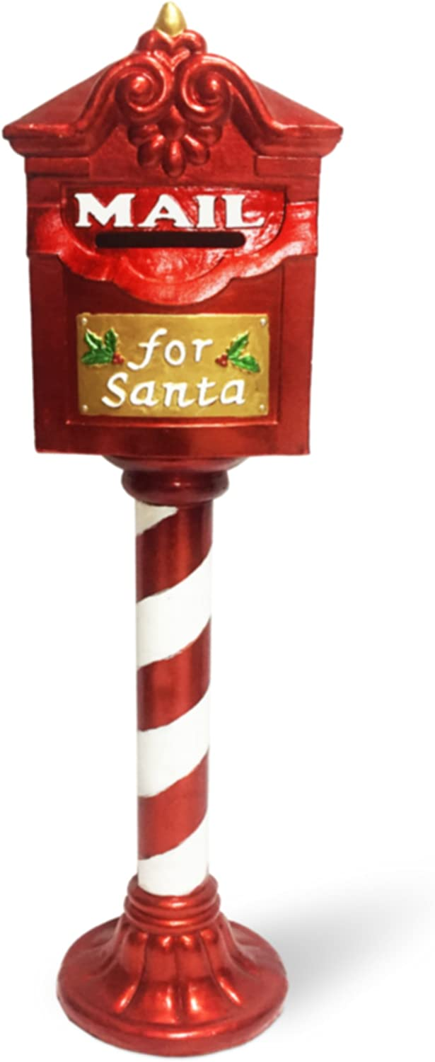 "National Tree JR15-172234 36"" Santa's Mailbox"