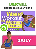 10 Minute Waist Workout for Women - Slim Waist Exercises at Home [OV]