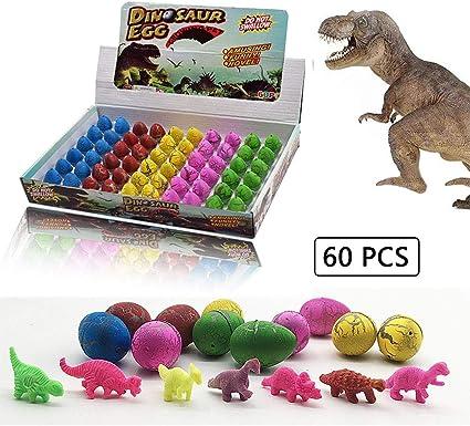 Amazon.com: LifBetter juguetes de dinosaurio, huevos de ...