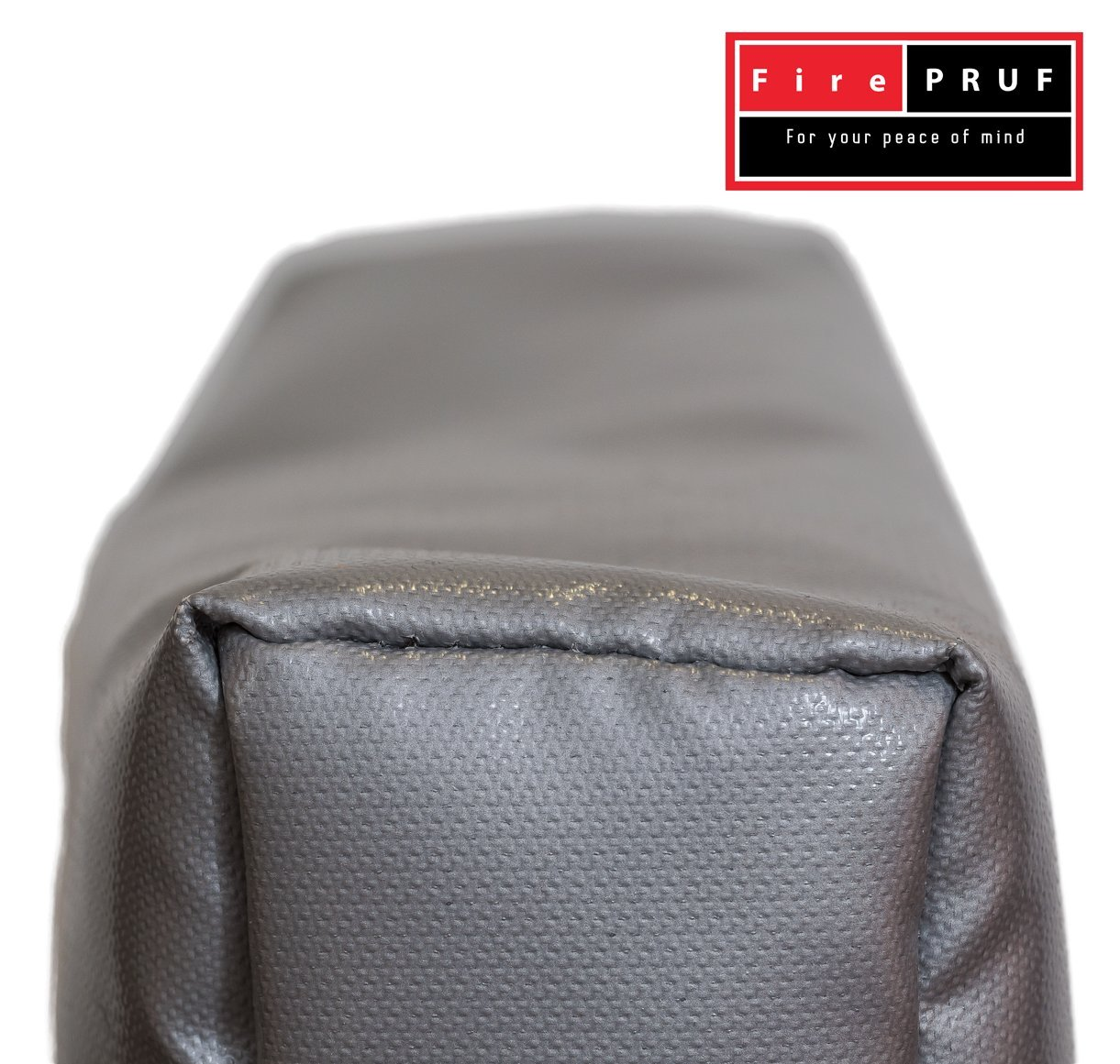 Certified Fireproof Bag for Documents, Money, Office Files & Memory Cards - Both Fire and Water Resistant, Ideal for Evacuation and Emergencies - 100% Fire Protected Zipper, Patent Pending by QIAYA (Image #4)