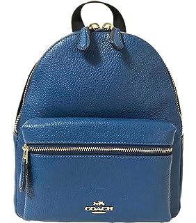 6a80b8e13cd1 Amazon.com  Coach Charlie Pebble Leather Backpack 17091  Shoes