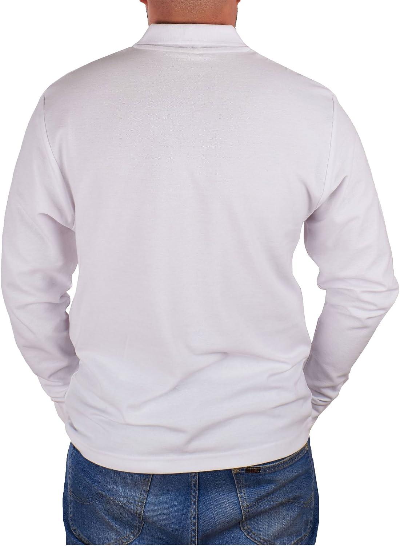 John Shark - Polo de Manga Larga para Hombre, diseño de Camisetas ...