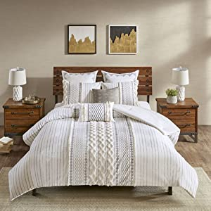 Ink+Ivy Imani Comforter Mini Set, Ivory