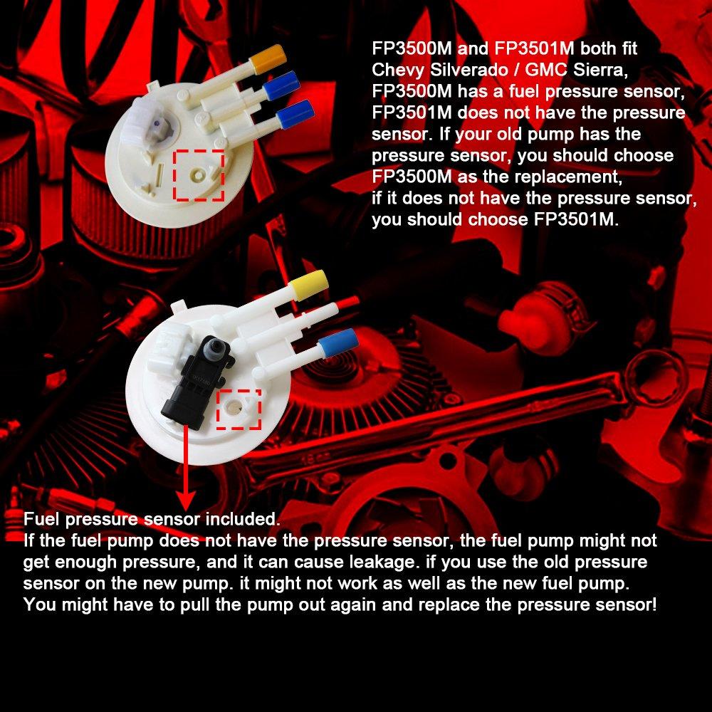 Fuel Pump 2000-2005 Buick Century Chevy Impala Monte Carlo Grand Prix fit E3542M
