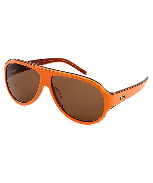 Lacoste Gafas de Sol L644S5912135 (59 mm) Naranja: Amazon.es ...