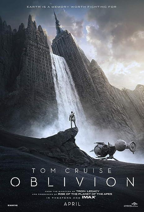 Amazon.com: OBLIVION MOVIE POSTER 2 Sided ORIGINAL Advance 27x40 TOM  CRUISE: Posters & Prints