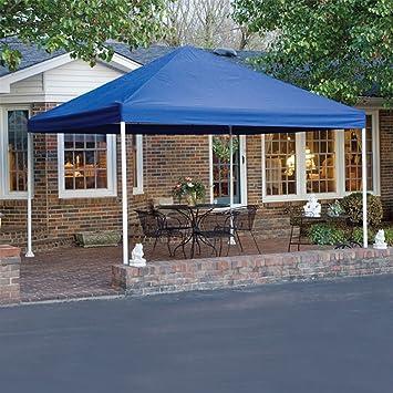 ShelterLogic 12 x 12- Feet Canopy 2- Inch 4-Leg Frame Blue & Amazon.com: ShelterLogic 12 x 12- Feet Canopy 2- Inch 4-Leg Frame ...