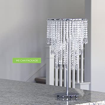 Amazon 11 wedding chandeliers centerpieces decorations 11quot wedding chandeliers centerpieces decorations crystal bling diamond cut for event party decor junglespirit Gallery