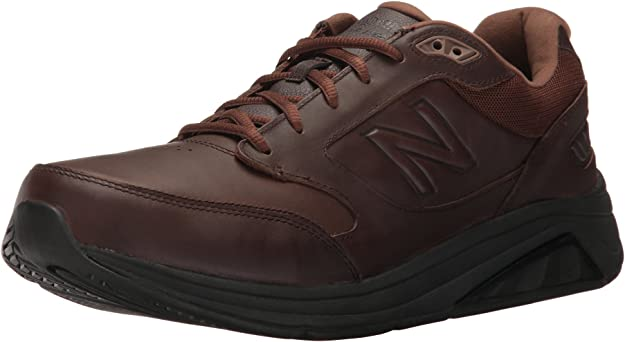 New Balance Men's Mens 928v3 Walking Shoe Walking Shoe, Brown, 7 D US