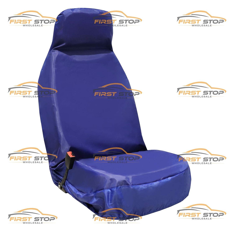 Multipla Punto FSW HD1+1 Blue Heavy Duty Waterproof Car Front Blue Seat Covers 1+1 Blue HD1+1 Fits: 500 Barchetta Doblo Marea Seicento Qubo Stilo Scudo Panda Bravo Fiorino Idea Brava