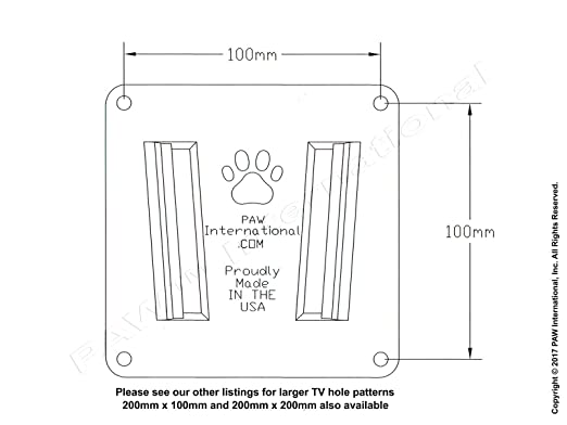 Amazon.com: PAW International RV TV cket (Polymer) - Single TV ... on forest river accessories, forest river plumbing diagram, forest river service, forest river voltage, truck trailer diagram, north river wiring diagram,