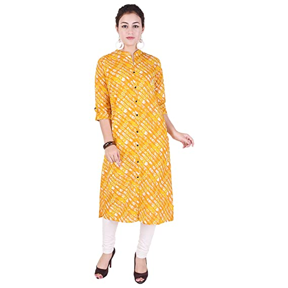 32a7bdb524d Labuly casual cotton straight printed women kurti  Amazon.in  Clothing    Accessories