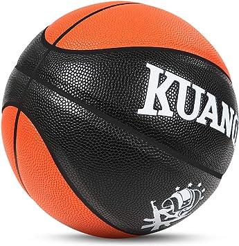 Amazon.com: Kuangmi - Balón de baloncesto multicolor para ...