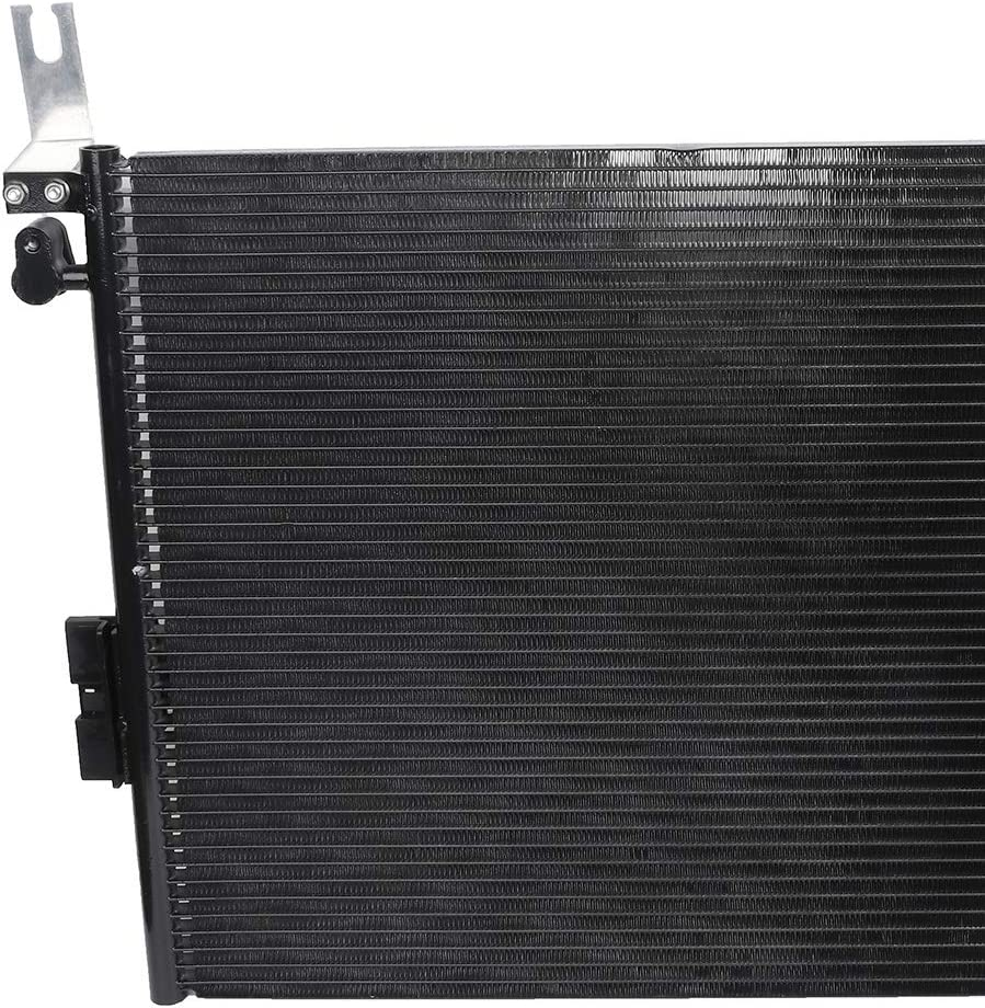 ECCPP Auto Parts Air Conditioning A//C AC Condenser Aluminum A//C AC Condenser Replacement Radiator for CU3393 2005-2013 Toyota Tacoma 2.7L 4.0L CU3393