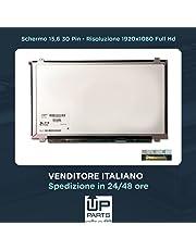"""UP PARTS Schermo 15.6"""" LED Panel 30 PIN EDP WXGA 1920X1080 Full HD Glossy Compatibile con Lenovo B50-70 80EU, G50-80 80E5, Z50-70 80E7"""