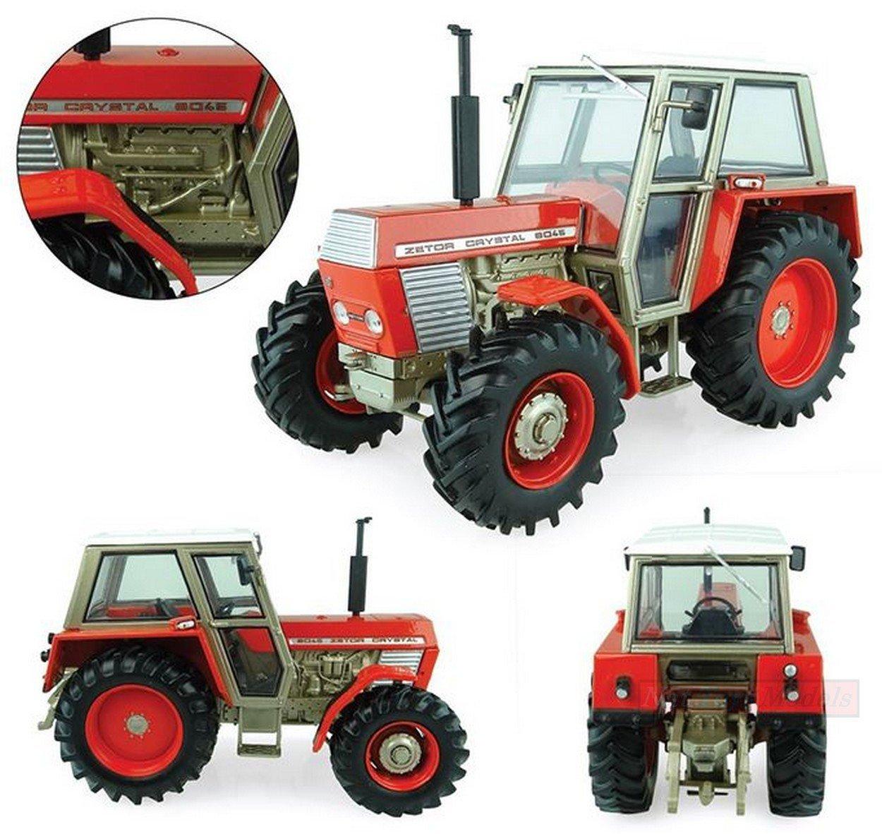 NEW UNIVERSAL Hobbies UH5272 ZETOR 8045 4WD 1971-84 1:32 MODELLINO DIE CAST Model