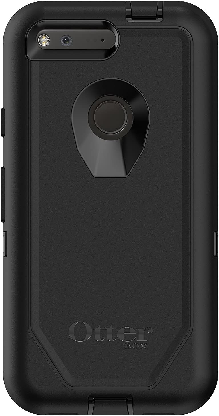 "OtterBox DEFENDER SERIES Case for Google Pixel (5"" VERSION ONLY) - Retail Packaging - BLACK"