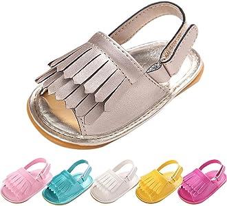 67ff2b4f zapatos bebe primeros pasos, Switchali Recién nacido bebe niña verano borla  Suela blanda princesa Zapatillas. Atrás. Pulsa ...