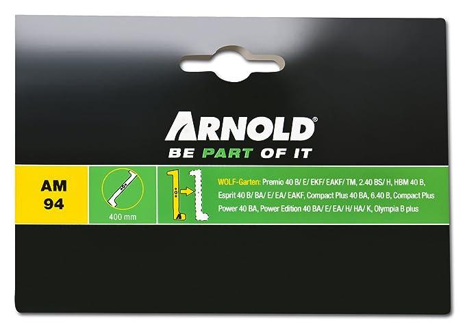 Arnold Wolf-Garten VI 40 W, 1111-M6-0106 - Hoja para cortacésped ...