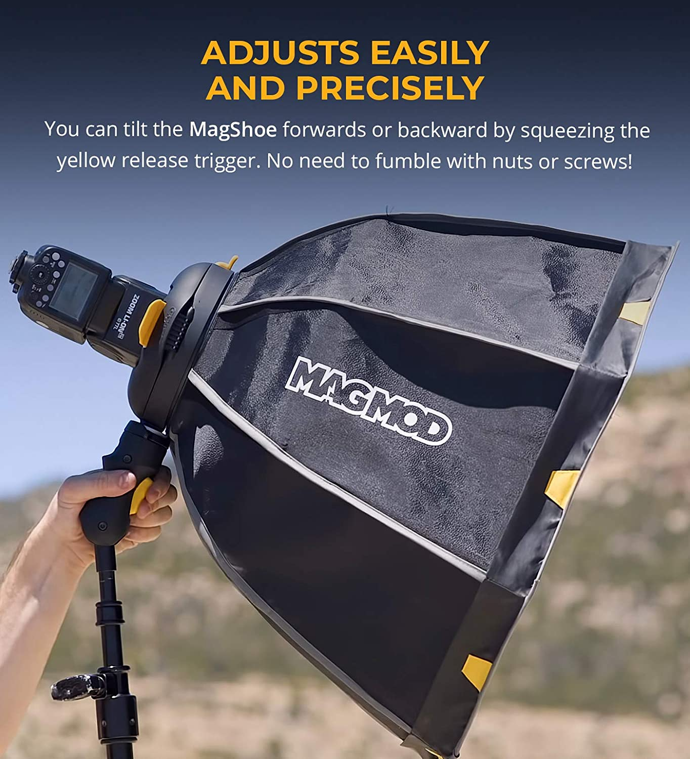 Universal Cold Shoe Flash Mount MagMod MagShoe